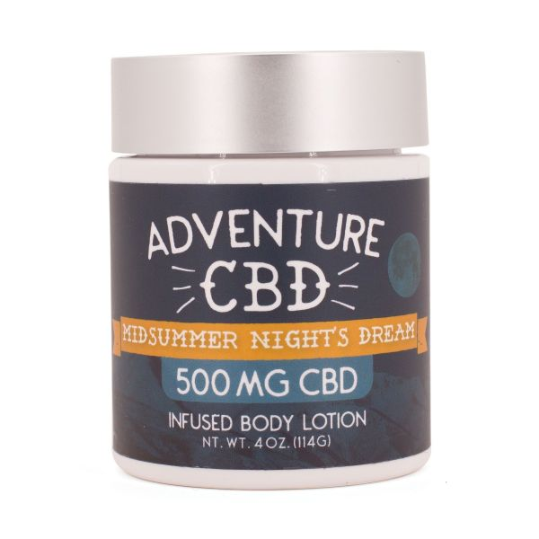 Adventure CBD :: Midsummer Night's Dream Infused Body Lotion (500mg CBD)
