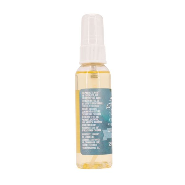 Adventure CBD :: Moisturizing Body Oil - Cucumber & Melon (2fl. oz., 250mg CBD)