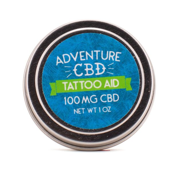 Adventure CBD :: Tattoo Aid - CBD Salve (1oz - 100mg)