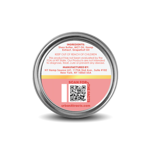 urbanXtracts :: Citrus Soothing Balm (500mg CBD)