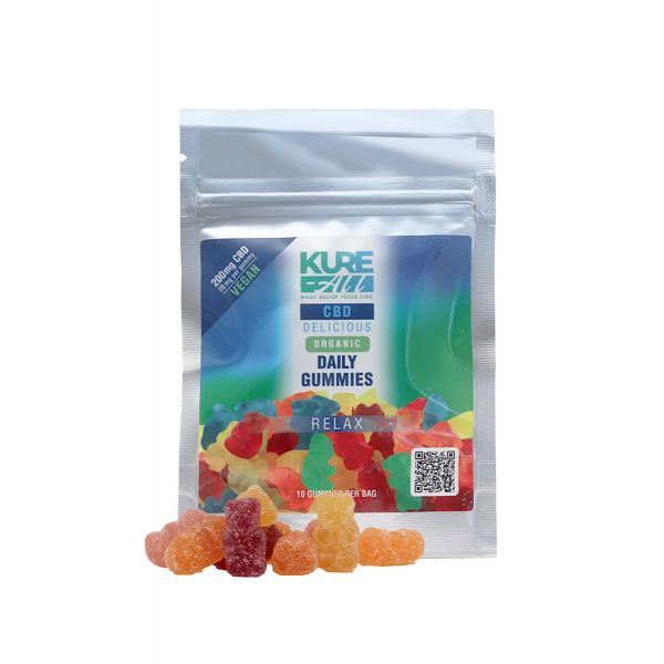 Kure-All :: CBD Grab And Go Gummies (10 count - 200mg)