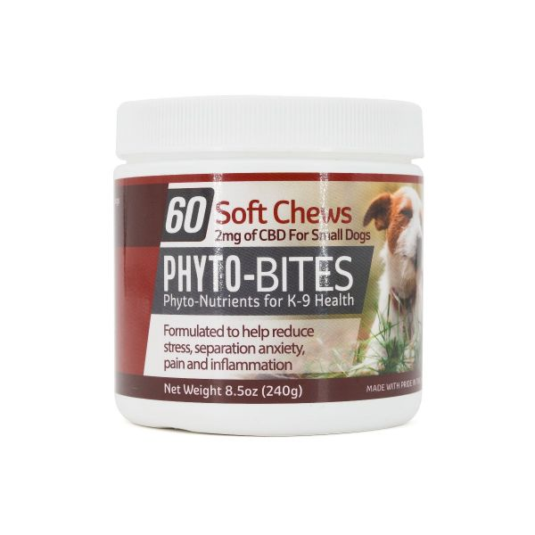 Phyto-Bites :: Soft Chews for Small Dogs (120mb, 60 count)