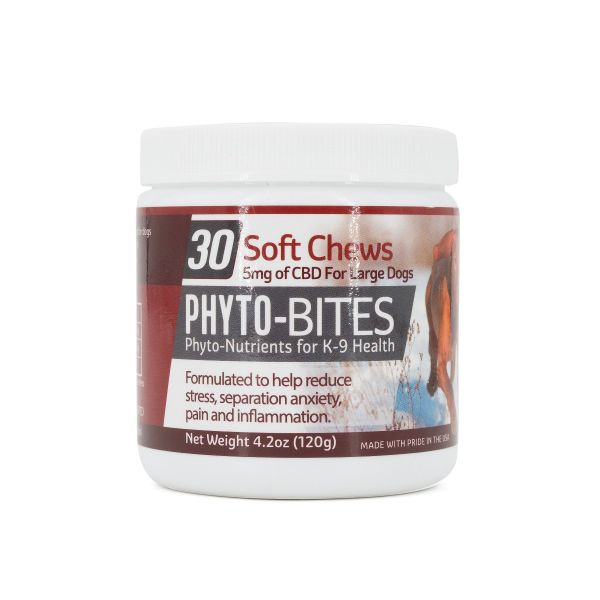 Phyto-Bites :: Soft Chews for Large Dogs (150mg, 30 count)