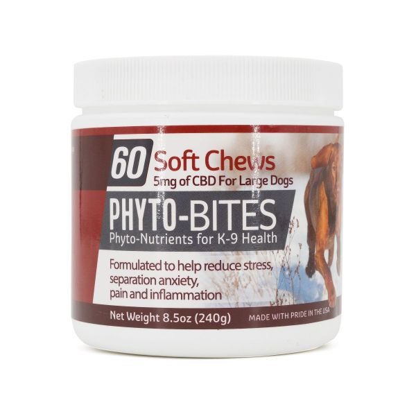 Phyto-Bites :: Soft Chews for Large Dogs (300mg, 60 count)
