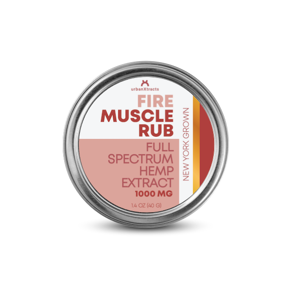 urbanXtracts :: FIRE Muscle Rub (1000mg CBD)