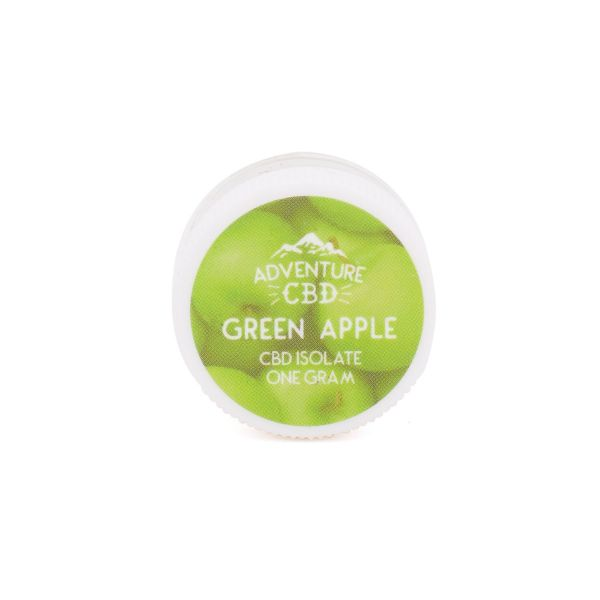 Adventure CBD :: Green Apple Isolate (1000mg CBD)