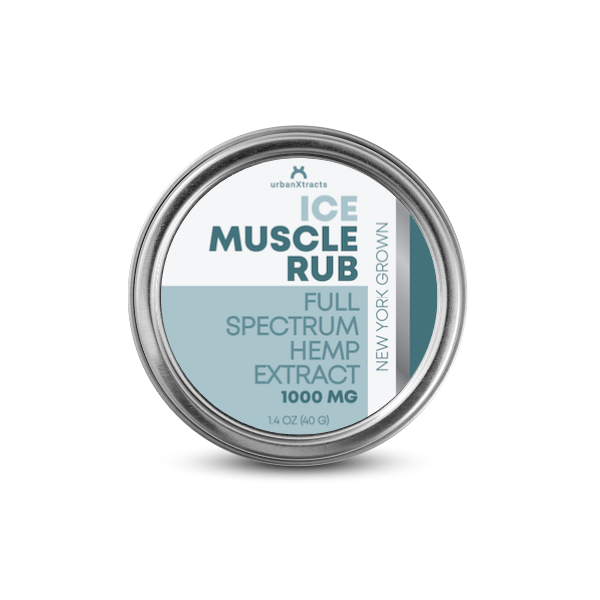 urbanXtracts :: ICE Muscle Rub (1000mg CBD)