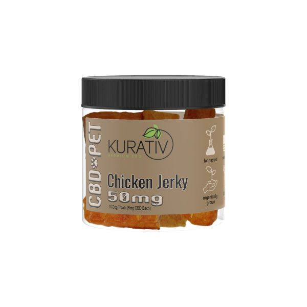 Kurativ :: CBD Pet Treats - Chicken (50mg, 10 count)