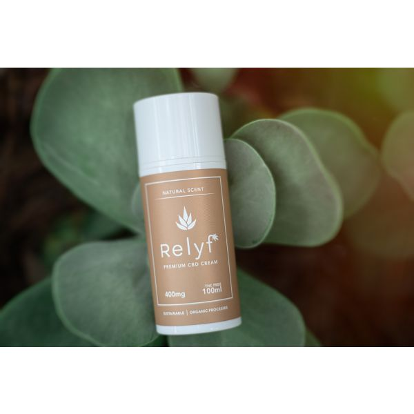 Relyf :: Premium Topical Cream (400mg CBD)