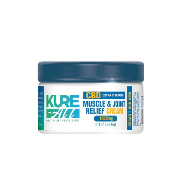 Kure-All :: Muscle & Joint Relief Cream (1000mg CBD)