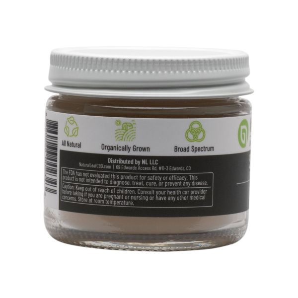 Natural Leaf CBD :: CBD Topical Salve (2oz - 1,000mg)