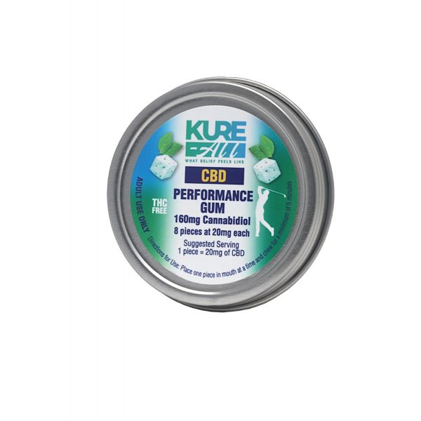 Kure-All :: CBD Performance Gum (8 count - 160mg)