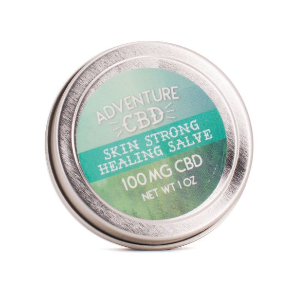 Adventure CBD :: Skin Strong Healing Salve - Rosemary & Tea Tree (100mg - 400mg CBD)