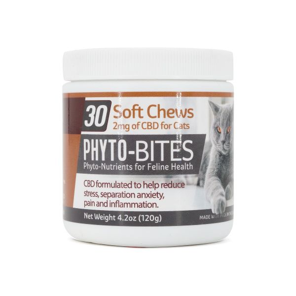 Phyto-Bytes :: Soft Chews for Cats (60mg CBD, 30 count)